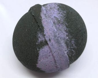 Organic Stormy Waters Bath Bomb    Natural Soothing