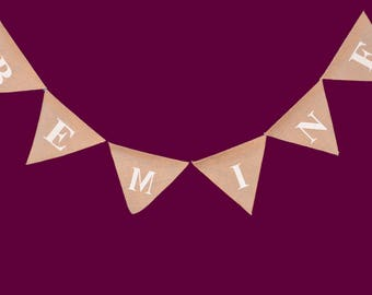 banners,burlap banners,jute banners,decoration banners,celebration banners,valentines day banners,party banners