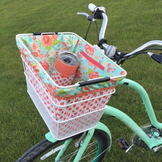 Sewing Pattern The Pedal Pusher Bike Basket Liner Pdf Digital