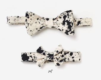 "Bow tie and collar in the partner look set ""JANNE"""
