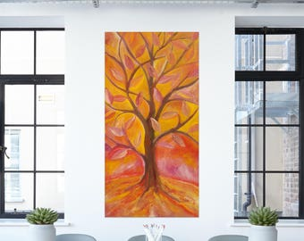 Tree of Life #1 by Dom Violi (Oil on canvas)