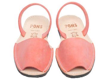 Women's coral sandals
