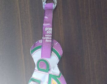Grape Crush ukulele keychain