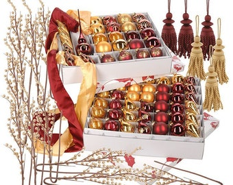 New 87-piece Complete Christmas Trim Kit by David Shindler