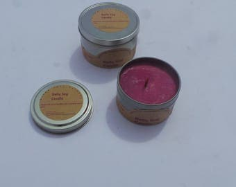 4 oz. Soy Candles with Wooden Wick