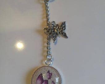 door keys or jewelry bag Butterfly