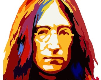 BEATLES DECAL John Lennon Imagine