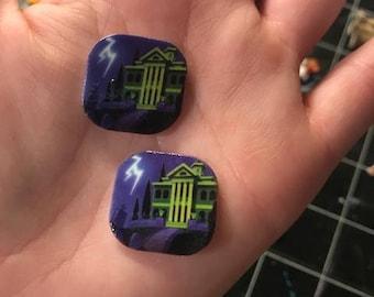 Earrings: Haunted Mansion
