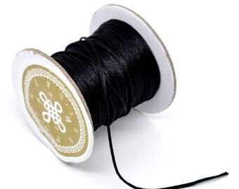 2 m wire cords knotting satin 1.5 mm