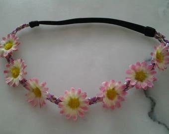 Headband flowers for wedding ceremony