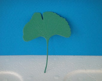 Cut out leaf ginko for scrapbooking and card