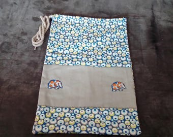 Blanket, snack bag, pouch bag