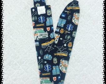EMS - PARAMEDIC - Stethoscope Cover - Stethoscope Sock - EMT - Ambulance - Nurse -  Gift - Christmas - Stocking Stuffer