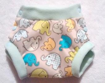 Fancy = boyshorts panties Protector for cloth diaper