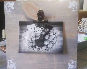 Rustic Photo Display
