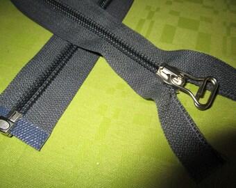 dark gray paper color nylon closure