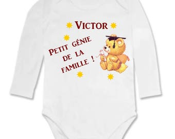 Genius personalized with name Bodysuit