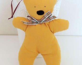 Christmas decoration, fabric bear.