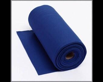Royal Blue fine knit cuffs