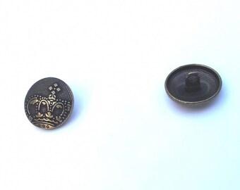 2 bronze buttons T27