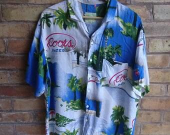 Vintage 'Coors Beer' shirt