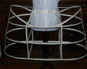 Basket crinoline dress Marie-Antoinette