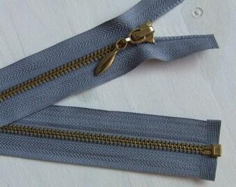 Large mesh Metal 5.6 mm Separable zipper