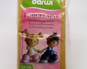 "Darwi porcelaine 150g ""porcelaine froide"" doré"