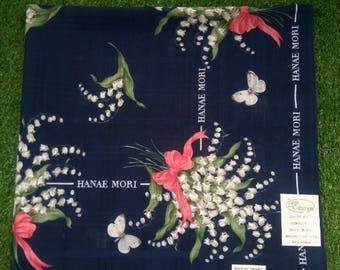 Hanae Mori handkerchief