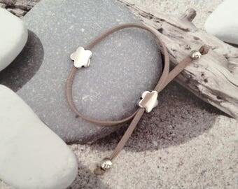 Bracelet double flower