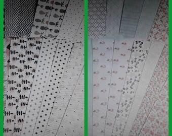 64 sheets of paper scrapbooking 30 x 15cm