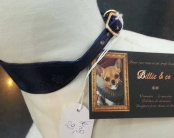 Greyhound dog collar leather necklace