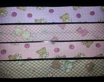 4 bias pink 20cm shade