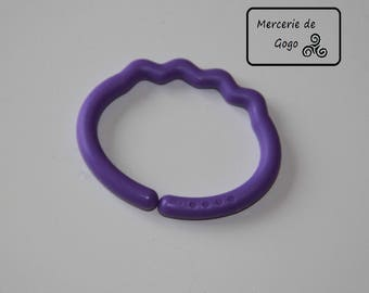 Hook or hook for baby toy. Purple.