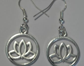 "Earrings ""Lotus"""