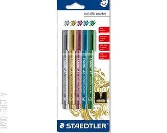 Staedtler metal - variegated 5 markers