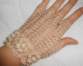 Cotton fingerless