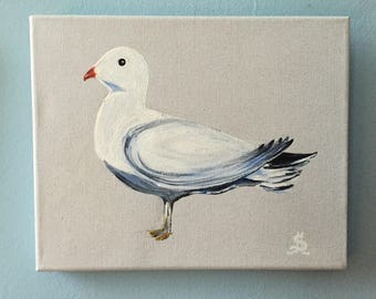 "Painting ""Seagull"": customizable deco seaside for a vacation home!"