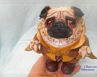 dog,pug,Interior textile toy,Mister