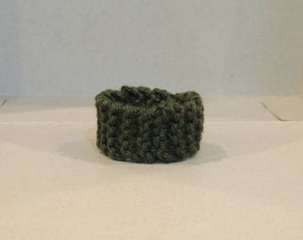 Camo Green Knitted Bracelet