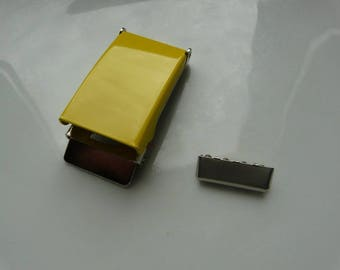 25 mm yellow metal belt buckles
