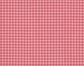 Old Pink Plaid Miller patchwork fabric
