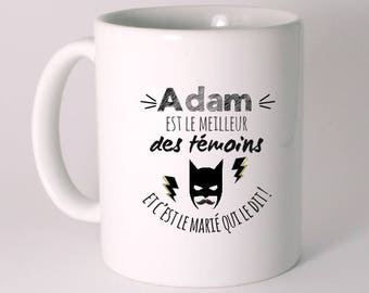 """Personalized """"best of the witnesses"""" ceramic MUG"""