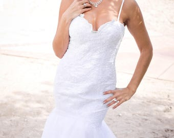 Beach Wedding Dress - Sequana