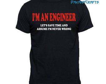 Engineer t shirt etsy for Order custom t shirts in bulk