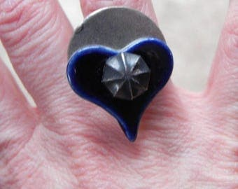 Women original and unique asymmetrical Adjustable ring
