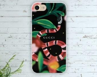 Gucci case Gucci Iphone 7 case Gucci Samsung S8 case Gucci cover Gucci silicone case Gucci Iphone 6 case Gucci Snake case Gucci Galaxy S7