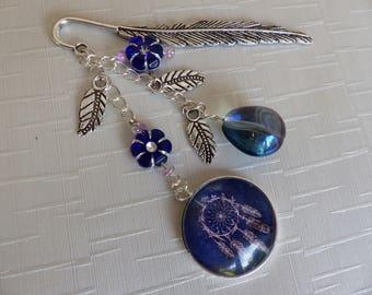 Dark blue Dreamcatcher bookmark