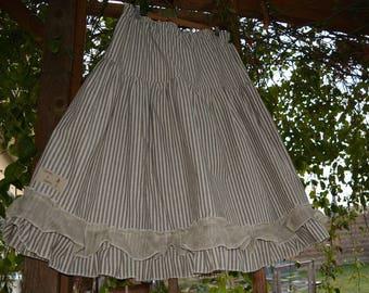 linen and cotton petticoat model Elisa