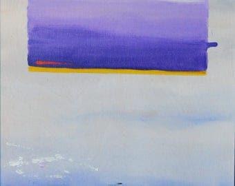 Trinitarian Theology: Dreaming of Rothko #4 - Original Abstract Oil Painting